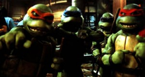 A screenshot from Teenage Mutant Ninja Turtles