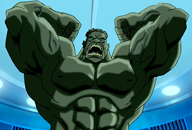 Hulk animated